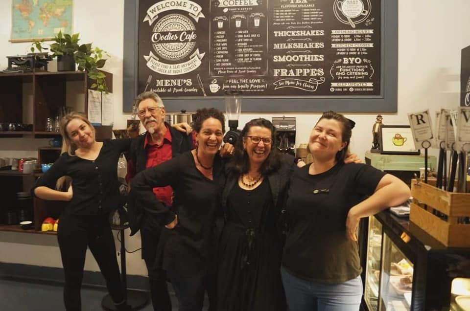 Oodies Cafe Bundaberg