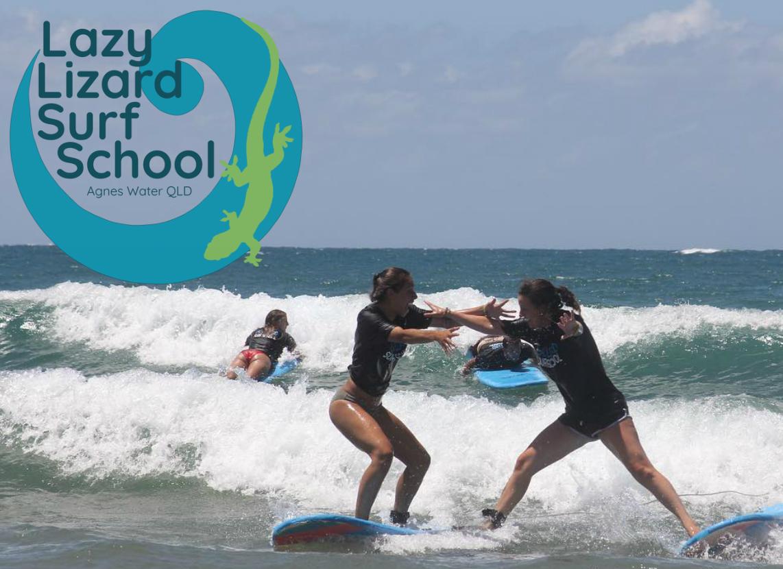 Lazy Lizard Surf School 1770